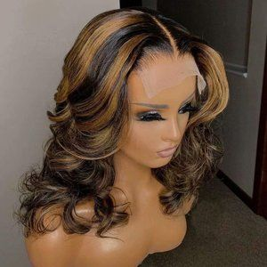 """Accessories - 18"""" Human Hair Remy Ombre 150% Brazilian Wig 2/27"""